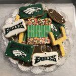 Philadelphia Eagles Cookies
