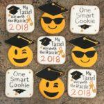 #graduation, #Tassel, #OneSmartCookie, #EmojiCookies