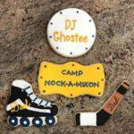 #CampNockAMixonCookies, #Rollarblade, #HockeyCookies