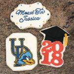 #GraduationCookies, #UniversityofDelawareCookies
