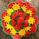 Summer Platter, Watermelon, Sun, Strawberry